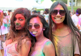 Holi Group Photos – Brisbane 2016
